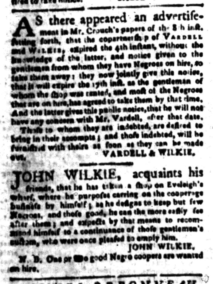 Mar 28 - South Carolina Gazette Slavery 7
