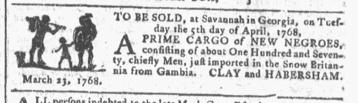 Mar 30 - Georgia Gazette Slavery 4
