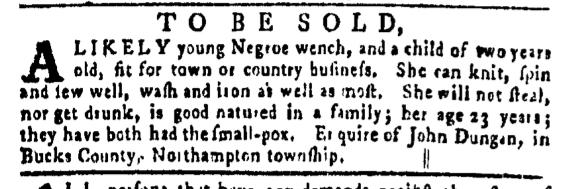 Mar 31 - Pennsylvania Gazette Slavery 2