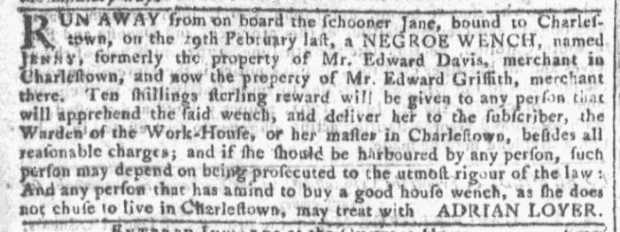 Mar 9 - Georgia Gazette Slavery 3