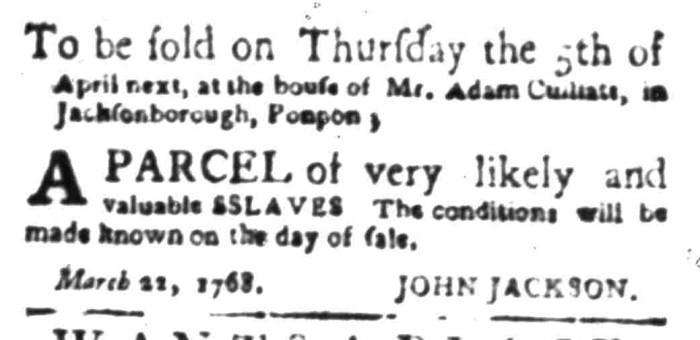 Apr 11 - South Carolina Gazette Slavery 9