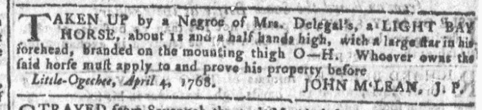 Apr 13 - Georgia Gazette Slavery 6