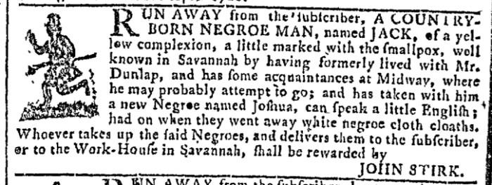 Apr 20 - Georgia Gazette Slavery 4