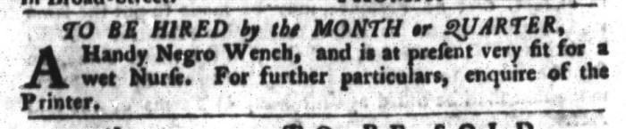 Apr 26 - South-Carolina Gazette and Country Journal Slavery 8