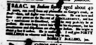 Apr 28 - Virginia Gazette Purdie and Dixon Slavery 5