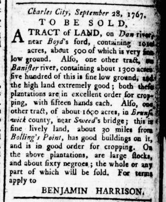 Apr 28 - Virginia Gazette Rind Slavery 5