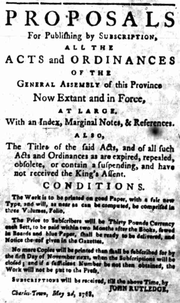 May 10 - 5:9:1768 South Carolina Gazette