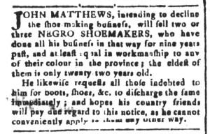 May 13 - South-Carolina and American General Gazette Slavery 3