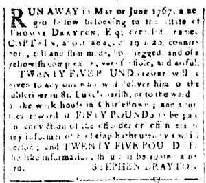May 13 - South-Carolina and American General Gazette Slavery 7