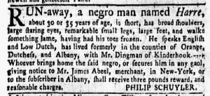 May 16 - New-York Gazette Weekly Mercury Slavery 2