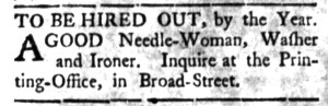 May 16 - South Carolina Gazette Slavery 2