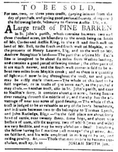May 16 - South Carolina Gazette Slavery 4