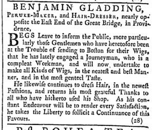 May 21 - 5:21:1768 Providence Gazette