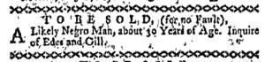 May 30 - Boston-Gazette Slavery 1