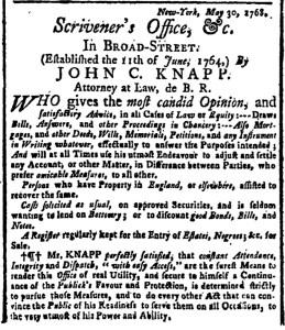 May 30 - New-York Gazette Weekly Post-Boy Slavery 1