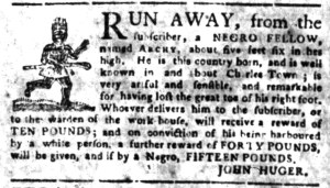 May 30 - South Carolina Gazette Slavery 3