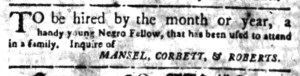 May 30 - South Carolina Gazette Slavery 4