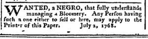 Jul 11 - Pennsylvania Chronicle Slavery 2