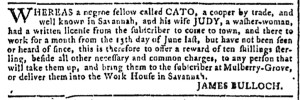 Jul 13 - Georgia Gazette Slavery 2