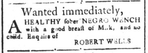 Jul 8 - South Carolina and American General Gazette Slavery 7