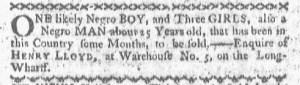 Jun 13 - Boston-Gazette Slavery 2