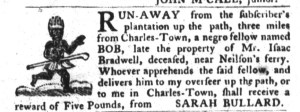 Jun 14 - South-Carolina Gazette and Country Journal Slavery 4