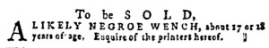 Jun 16 - Pennsylvania Gazette Supplement Slavery 2