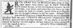 Jun 22 - Georgia Gazette Slavery 5