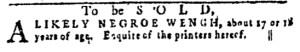 Jun 23 - Pennsylvania Gazette Slavery 3