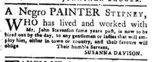 Jun 27 - South Carolina Gazette Slavery 16
