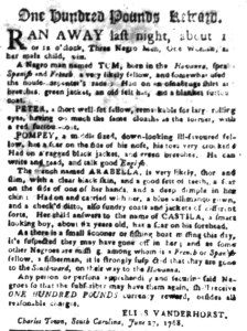 Jun 27 - South Carolina Gazette Slavery 6