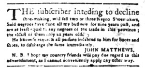 Jun 27 - South Carolina Gazette Slavery 8