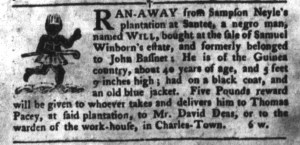 Jun 28 - South-Carolina Gazette and Country Journal Slavery 8