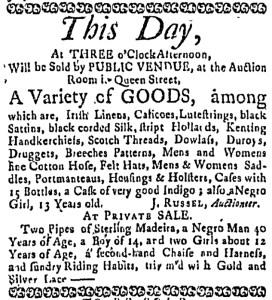 Jun 30 - Massachusetts Gazette Draper Slavery 1