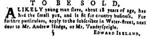 Jun 30 - Pennsylvania Gazette Supplement Slavery 3