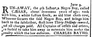 Jun 30 - Pennsylvania Journal Slavery 1