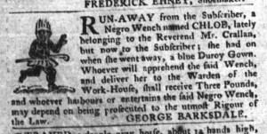 Jun 7 - South-Carolina Gazette and Country Journal Supplement Slavery 7
