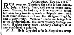 Aug 1 - Pennsylvania Chronicle Slavery 3