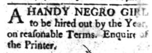 Aug 1 - South-Carolina Gazette Slavery 1