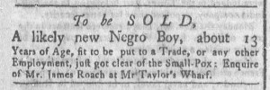 Aug 8 - Newport Gazette Slavery 1
