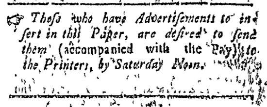 Jul 18 - 7:18:1768 Connecticut Courant