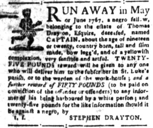 Jul 18 - South-Carolina Gazette Slavery 2