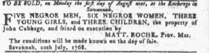 Jul 20 - Georgia Gazette Slavery 2