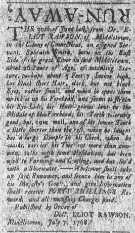 Jul 25 - Connecticut Courant 7:25:1768