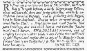 Aug 22 - Boston-Gazette Slavery 3