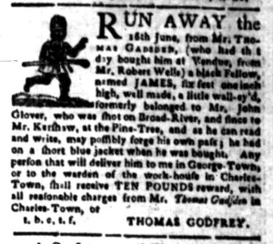 Aug 22 - South-Carolina Gazette Slavery 7