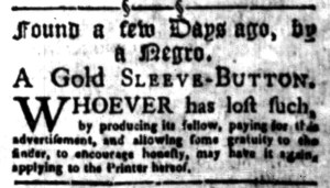 Aug 22 - South-Carolina Gazette Slavery 8