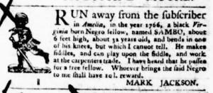 Aug 25 - Virginia Gazette Purdie and Dixon Slavery 5