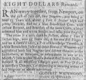 Aug 29 - Newport Mercury Slavery 2