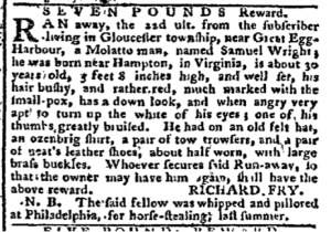 Aug 29 - Pennsylvania Chronicle Slavery 3